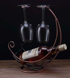 Hanging Wine Glasses, Hanging Wine Rack, Wine Glass Rack, Wine Holders, Coffee Maker, Free Shipping, Creative, Hot, Metal