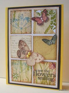 Inchie card - Summer fun by Jacqueline.fr, via Flickr