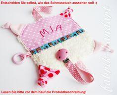 "Knistertuch Schnullertuch Schmusetuch von fabrik-handart ""KEVS-BAG"" auf DaWanda.com"