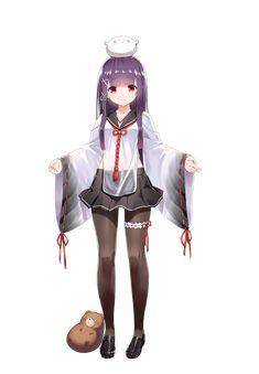 Cute Anime Pics, Anime Girl Cute, Kawaii Anime Girl, Anime Art Girl, Manga Girl, Anime Girls, Anime Purple Hair, Anime Summer, Fox Girl