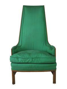 Emerald high back chair