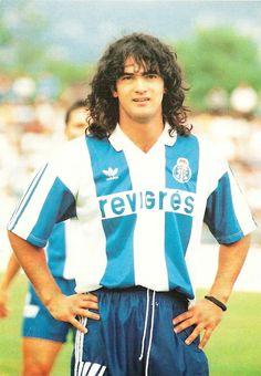 Football Cards, Football Soccer, Football Players, Hugo Silva, Fc Porto, Everton Fc, Vintage Football, Old Boys, Retro