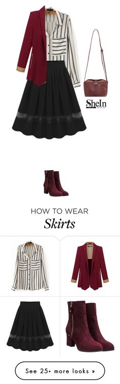 """""""Shein skirt"""" by blueeyed-dreamer on Polyvore featuring contest and shein"""