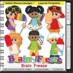 Brain Freeze Layered Templates - CU