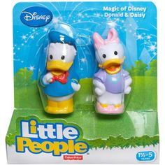 Fisher-Price Magic of Disney Daisy and Donald Friends by Little People - Walmart.com