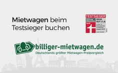 ThreeSteps gratuliert billiger-mietwagen.de[nbsp]zum Testsieg bei Stiftung Warentest (Heft 05/2016)! // Travel Hacks, Travel Tips, Car Rental, Tricks, Travel Advice