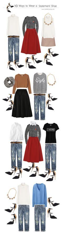 10 ways to wear a statement shoe