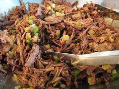 crock pot shredded beef:   1 tablespoon dried onion flakes  2 teaspoons salt  2 teaspoons garlic powder  2 teaspoons dried oregano  1 teaspoon dried rosemary, crushed  1 teaspoon caraway seed  1 teaspoon dried marjoram  1 teaspoon celery seed  1/4 teaspoon cayenne pepper  3 -4 lbs boneless chuck roast