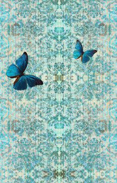 Chapelle Morpho. Also available as a velvet fabric. Blackpop.co.uk