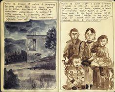 Moleskine Sketchbook Diary, copyright 2014 Nicky Nargesian.