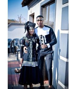 TRADITIONAL XHOSA ATTIRES,The most interesting thing about fashion is how you can make the most casual outfit look splendid and fitting for all occasions African Traditional Wear, African Traditional Wedding Dress, Traditional Styles, Traditional Clothes, Xhosa Attire, African Attire, African Dress, Designer Suits For Men, Dress Attire