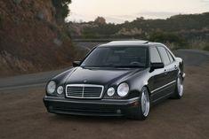 Lowered W210 Mercedes E55 Amg, Mercedes E200, Classic Mercedes, Mercedes E Series, Bmw Wallpapers, Mercedez Benz, Benz Car, Motor Works, Concept Cars