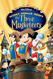 The three musketiers: Mickey, Donald, Goofy - NL gesproken en NL ondertiteld - 1h 8min