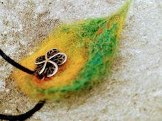 Autumn Leaves, Crochet Earrings, Wax, Felt, Brooch, Boho, Bracelets, Flowers, Gifts