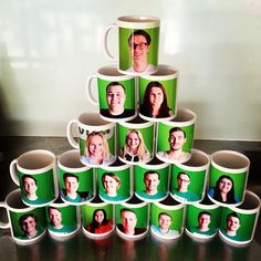 Special edition Vend #mugsonmugs - complete with CEO and intern. Collect the full set now!