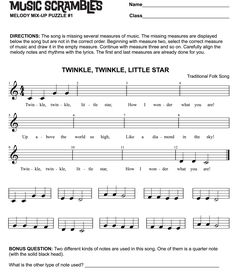 Worksheets Reading Music Worksheets 1000 images about violin teaching resources on pinterest music scrambles by donald moore teach and test reading skills with this reproducible resource for developing musicians