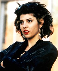 """Marisa Tomei as Mona Lisa Vito in """"My Cousin Vinny"""" i want to be her"""