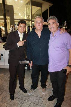 Douglas, Marcelo Resende, Edson