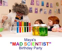 mad scientist party gear