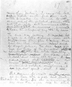 "Joseph Conrad's Heart of Darkness (1899): ""Oh! The horror!"", page 285 of the original manuscript"