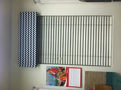 Chevron DIY window coverings!
