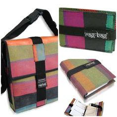 recycled plastic bags from rag-bag