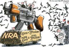 More guns do not make us safer or more free.