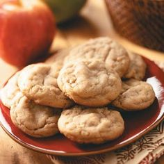 Apple Peanut Butter Cookies Recipe - Holiday Cottage