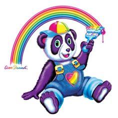Panda Painter T-Shirt Lisa Frank Clothing, Lisa Frank Unicorn, Lisa Frank Stickers, Balerina, Rainbow Brite, Bullet Journal Ideas Pages, 90s Nostalgia, I Remember When, Cute Panda
