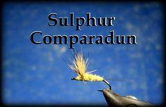 Fly Tying: Sulphur Comparadun
