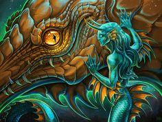 tamed reptile by Firell.deviantart.com on @DeviantArt
