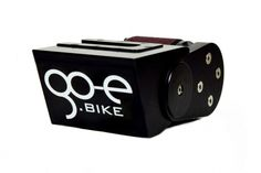 go-e-ONwheel.  Electric attachment that converts normal bike into ebike.