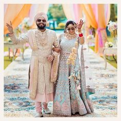 Best Of Punjabi Groom Outfits That You Must Bookmark For Your Wedding Indian Wedding Couple, Indian Wedding Photos, Sikh Wedding, Indian Wedding Photography, Wedding Attire, Groom Wear, Groom Outfit, Groom Attire, Sikh Bride
