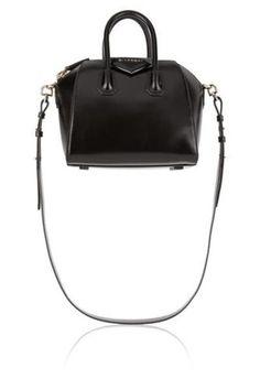 Mini Antigona bag in black leather #accessories #covetme #givenchy