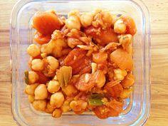 Estufado de Grão com Legumes