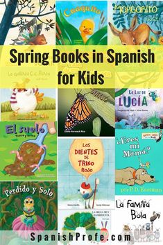 Ready to add some Spring books in Spanish to your classroom library? Here is a list of the best Spring themed books in Spanish for kids in Spanish language, dual and immersion classrooms or bilingual families. Lista de libros para la primavera para tus estudiantes y hijos.