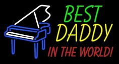 If your dad loves to play the piano, he will surely love this gift on father's day! #fathersdaygiftidea #fathersday #everythingneon