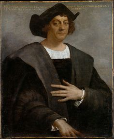 "Christopher Columbus (Cristoforo Colombo) (1451–1506), explorer for Spain. Born in Genua. In Italian language ""Cristoforo Colombo"". Sailed in 1492 and discovered the ""New World"" of the Americas"
