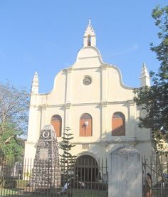 St. Francis Church - A front view #Kochi #Kerala #Church #Gods Own Country