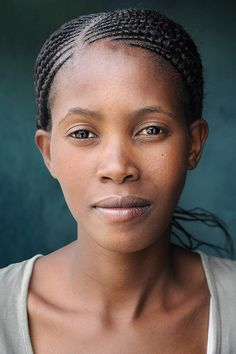 Lesotho Lady - faces of the people