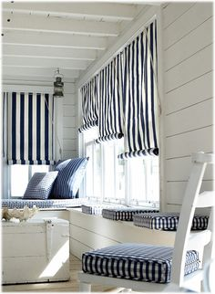 Prestigious Maritime - these shades would be sooo cute in a beach home.