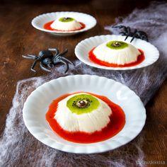 Silmäleivokset   Reseptit   Kinuskikissa Mousse Cake, Kermit, Panna Cotta, Cheesecake, Pumpkin, Pudding, Baking, Halloween, Ethnic Recipes