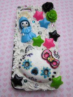 Hello Kitty Sugar Skull Theme Whipped Cream by MommaBearsCutique, $30.00