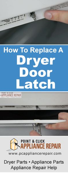 Dishwasher door latch handle replacement kitchenaid dishwasher if your dryer door has a door latch strike and does not stay shut solutioingenieria Images