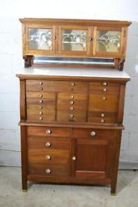 Meuble D Apothicaire Antique En Noyer 1900 Mobilier De Salon Meuble Apothicaire