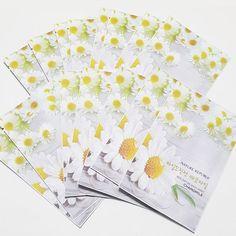 Nature Republic Real Natural Facial Masks Chemomile 23ml 3/7/14/30 Sheets Lot  #NatureRepublic