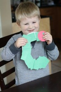 Easy, crafty follow up to The Very Hungry Caterpillar: C is for Caterpillar. {Playdough to Plato}