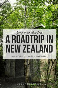 An adventurous roadtrip in New Zealand - Hobbiton - Mt. Doom - Rivendell | DIYDenmark Travel Blog #travel #travelblogger #roadtrip New Zealand Travel Guide, New Zealand Adventure, Denmark Travel, Australia Travel, Cheap Travel, Travel Around The World, Travel Guides, Adventure Travel, Travel Inspiration