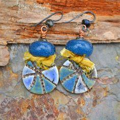 Art Bead Scene Challenge Earrings
