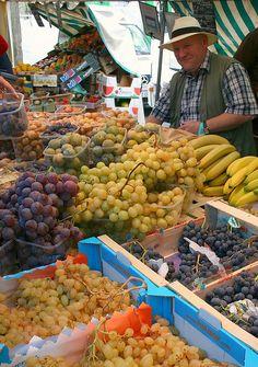 Paris, farmers market